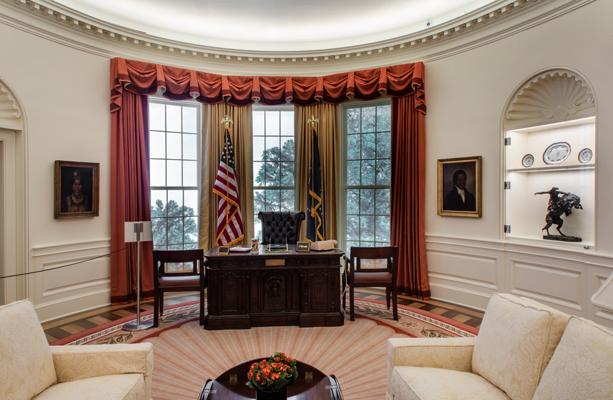 Meet the Presidents and Explore a Replica of the Oval Office