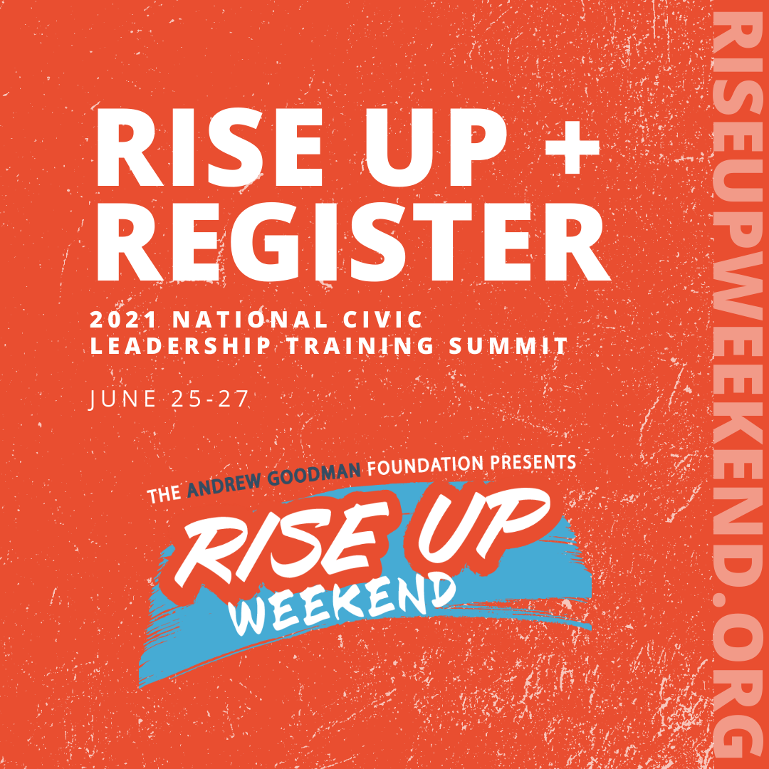 Join Rise Up Weekend with Toolkit and Resources
