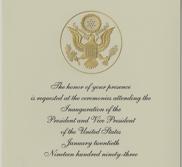 Your Ticket to the Inauguration