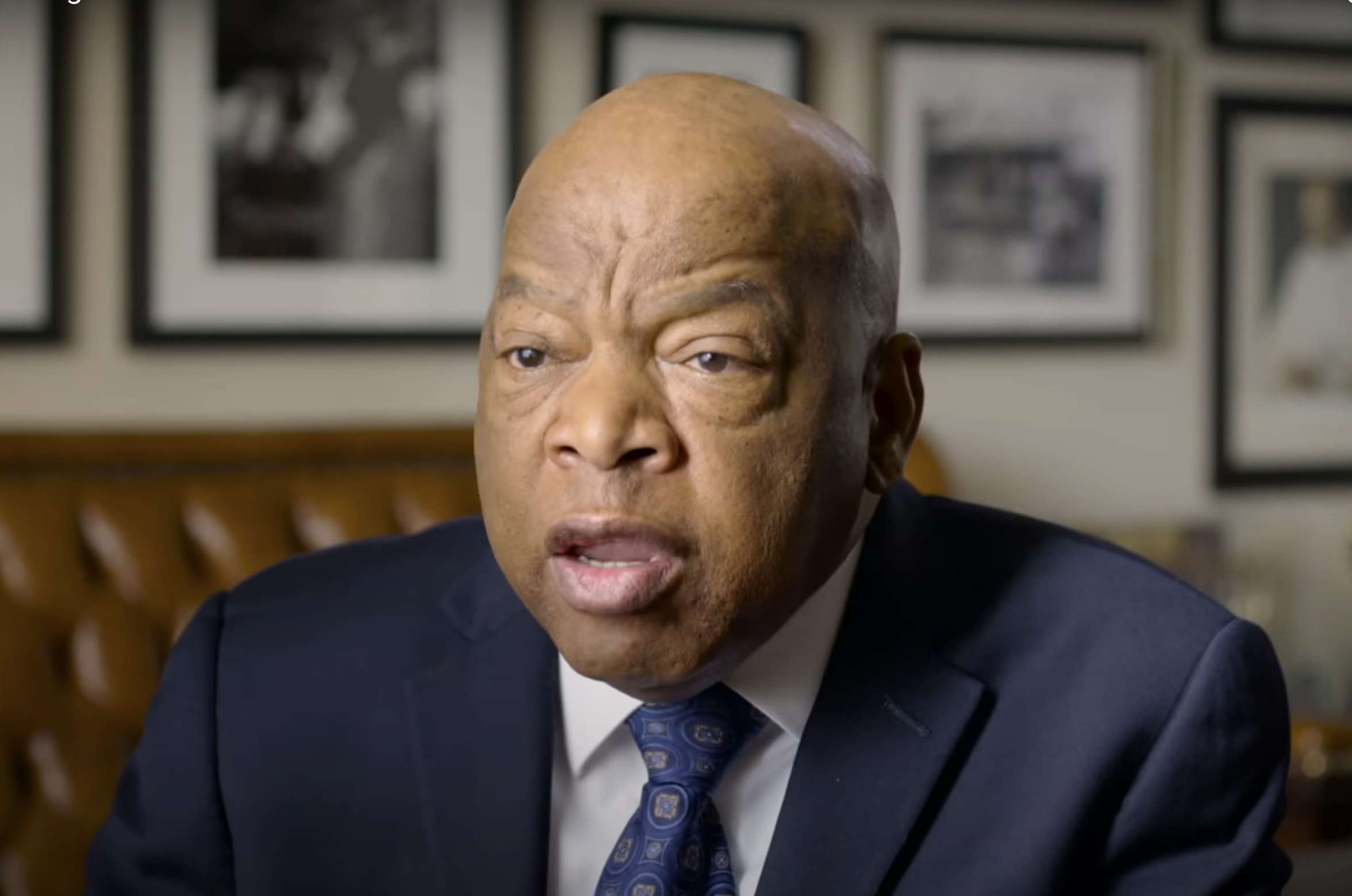 Watch John Lewis Speak on Rights and Justice in America