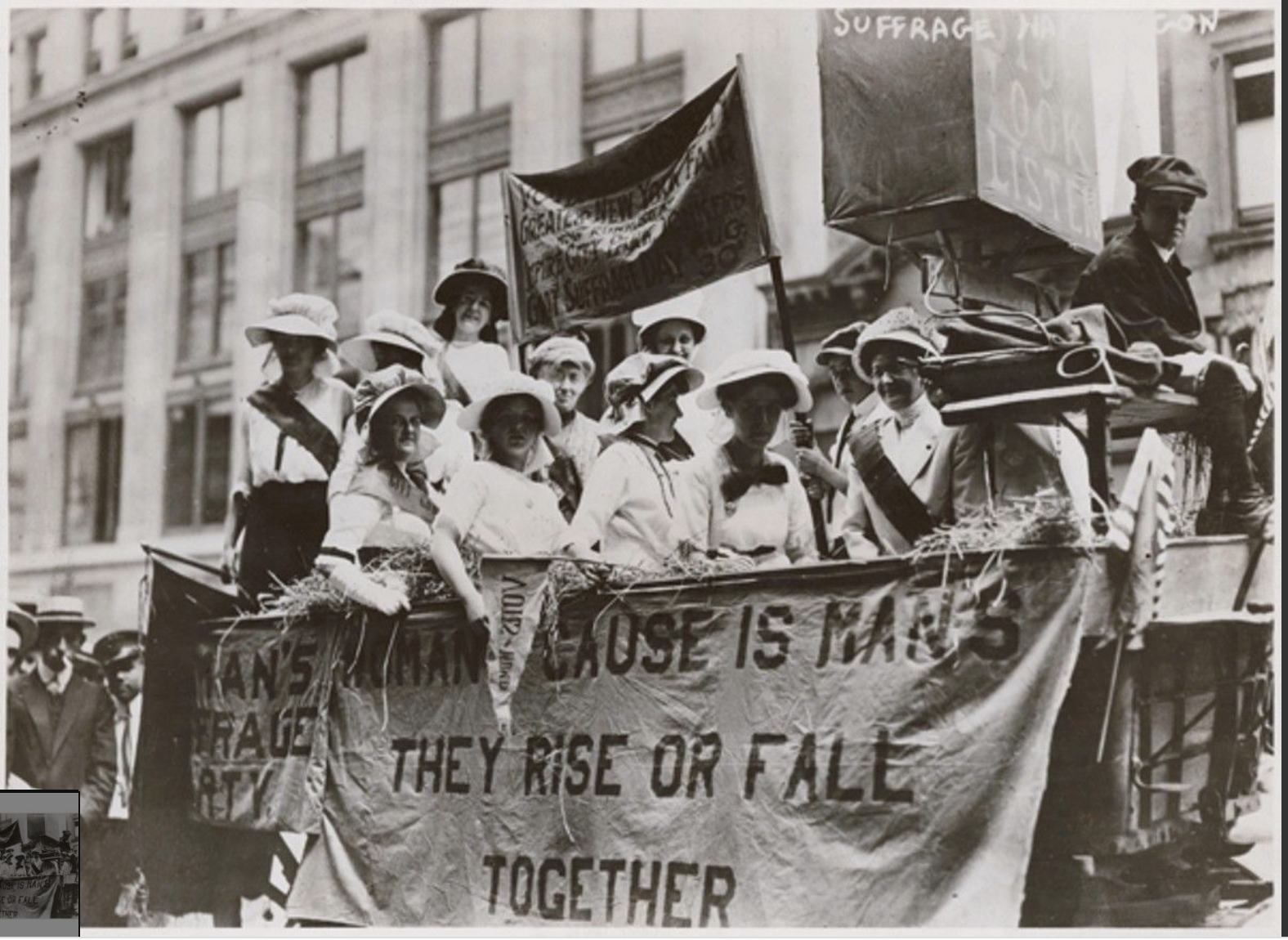 Extending Suffrage to Women
