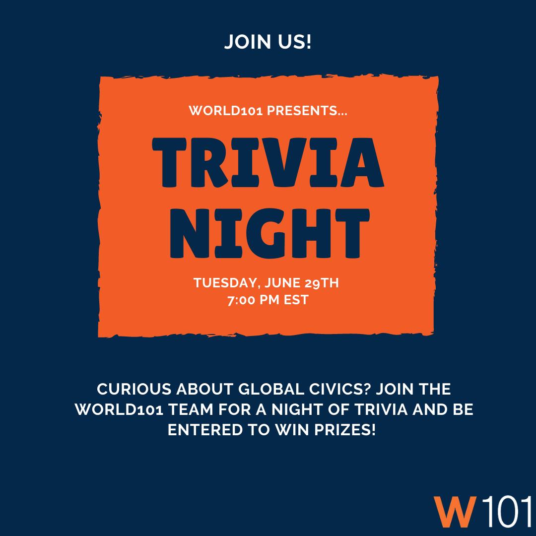 World101 Trivia Night