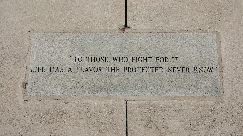 Reflect in Veterans Park