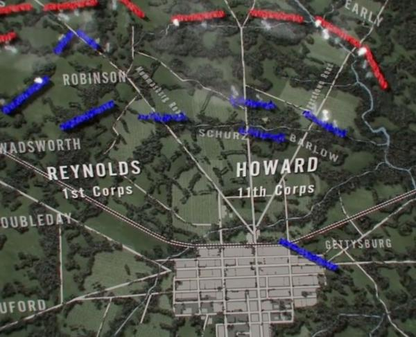 Explore an Animated Map of the Revolutionary War