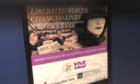 Liberated Voices/Changed Lives: Women's Suffrage